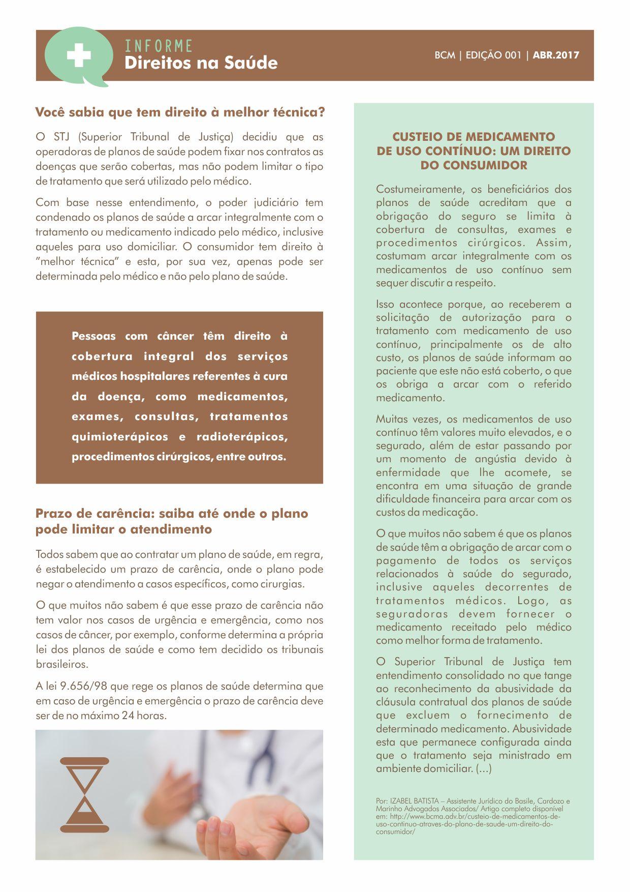 informativo_direitos na saude_BCM adv_01_01